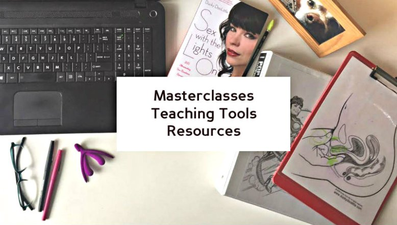 masterclasses, teaching tools, resources
